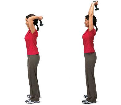 extension de triceps con mancuerna o patada3