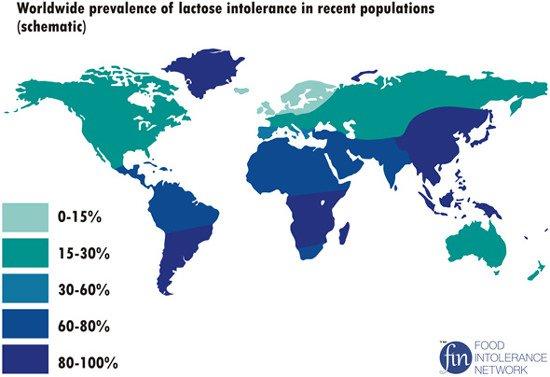 mapa intolerancia a lactosa