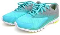 Zapatillas de running azul agua