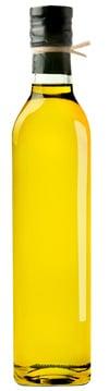 Botella de aceite de oliva