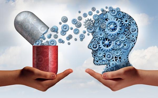 Concepto de medicina cerebral