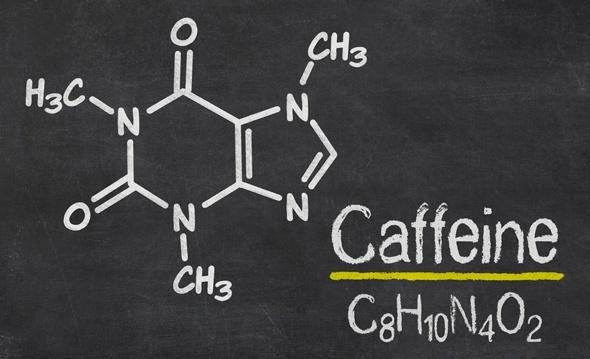 Estructura molecular de la cafeína