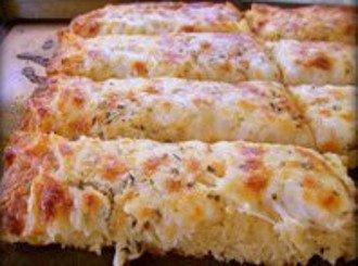 Pan de ajo con queso