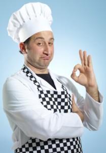 El chef está impresionado