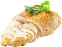 Pechuga de pollo cocida