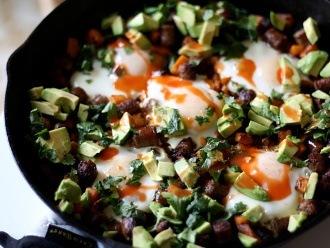 Sartén de desayuno vaquero