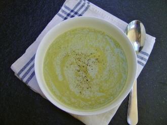 Sopa Cremosa De Apio