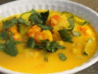 Curry Cremoso De Calabaza