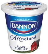 Dannon todo yogur natural natural