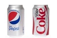 Diet Coke y Diet Pepsi