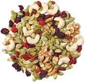 Frutos secos, frutos secos y semillas