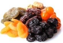 Pila de frutos secos