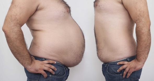Vientres gordos y delgados