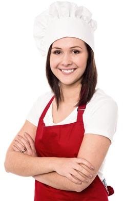 Panadero femenino