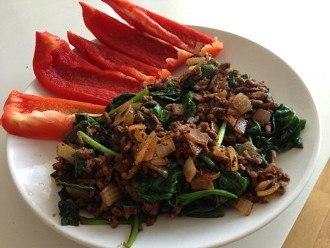 Carne Molida y Verduras