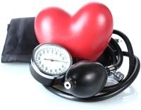 Medición del corazón y la presión arterial