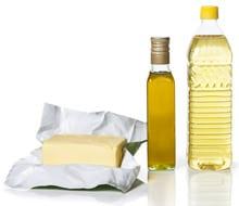 Aceites vegetales y margarina