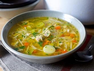 Mi sopa de pollo con fideos definitiva