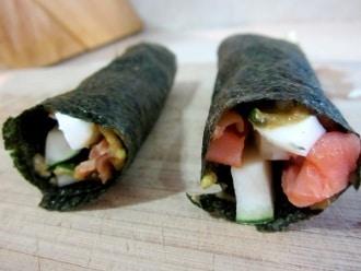 Paleo Sushi para el almuerzo