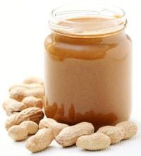 Cacahuetes y mantequilla de maní