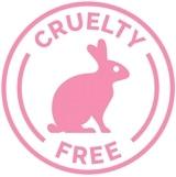 Logo libre de crueldad rosa