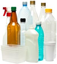 Objetos de plástico