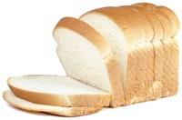 Pan blanco rebanado