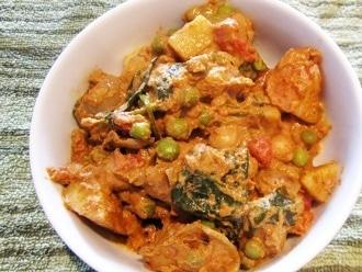 Curry de papa picante