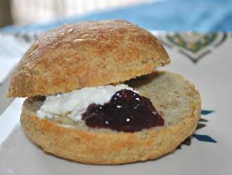 Bollos de desayuno suecos