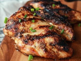 La mejor receta de pollo a la parrilla con condimentos