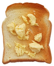 Pan Tostado Con Margarina