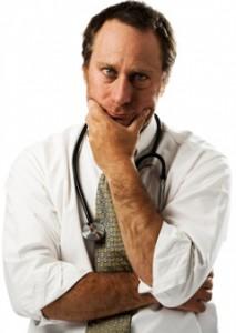 Doctor infeliz y frustrado