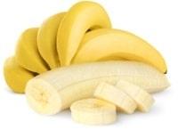 Plátanos enteros, pelados y en rodajas